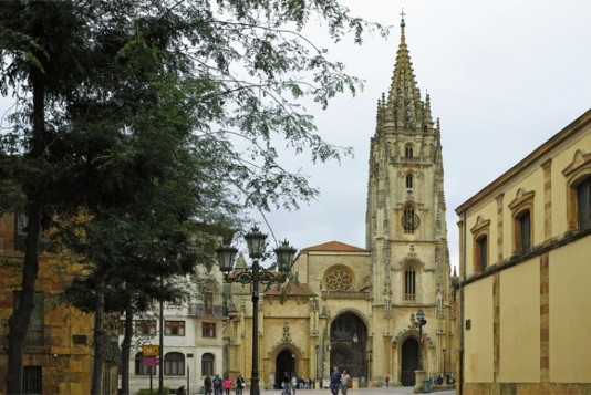 Kathedrale in Oviedo
